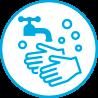 はりま高齢者講習専門校では新型コロナ対策の手洗い・うがいを実施して皆さまをお迎えしております。
