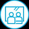 はりま高齢者講習専門校では新型コロナ対策の飛沫防止用のシートの設置し、高齢者講習・認知機能検査・合理化講習・高度化講習を受講いただけます。